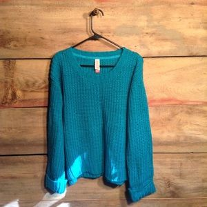 No Boundaries Chunky Knit Sweater XXL